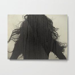 HAIR 02 Metal Print