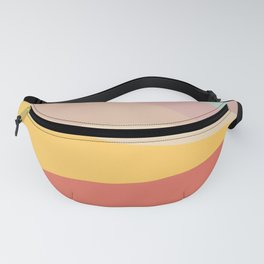 Retro Abstract Geometric Fanny Pack