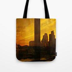 golden minneapolis Tote Bag