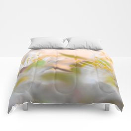 Nature's Blurred Lines Comforters
