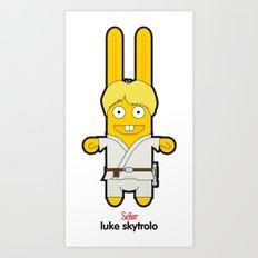 Sr. Trolo / luke skywalker Art Print