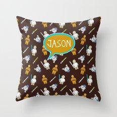 Personalized C3PO Throw Pillow