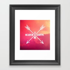 Heaven on Earth Framed Art Print