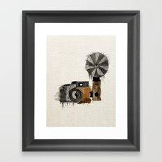 Camera Evolution Framed Art Print