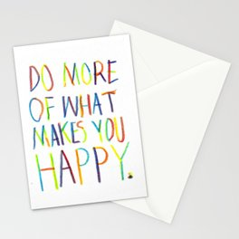 Positive Quote Stationery Cards