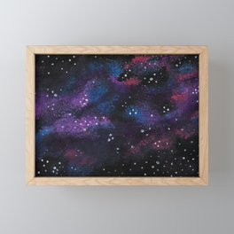 The Fairy Floss Nebula Framed Mini Art Print