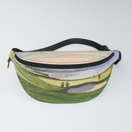 Pebble Beach Golf Course 9th Green Fanny Pack