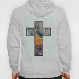 Fluid Art Cross Hoody