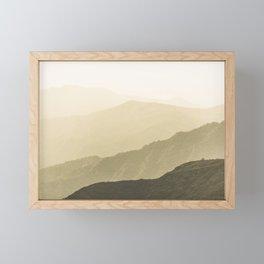 Cali Hills Framed Mini Art Print