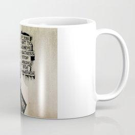 Banksy, Greatness Coffee Mug
