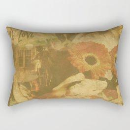 LOK Live Love Montage Rectangular Pillow