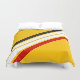 Oldschool Retro Stripes Duvet Cover
