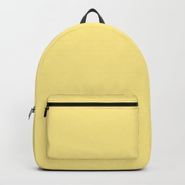 Bright Solid Retro Yellow - Color Therapy Backpack