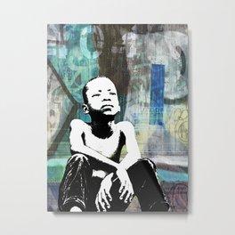 URBAN CHILD Metal Print