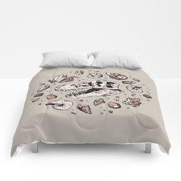 Geo-rex Vortex   Rose Quartz Comforters