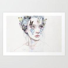 love and sacrifice Art Print