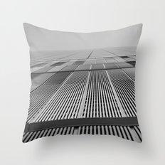 NEW YORK BUILDING.  Throw Pillow