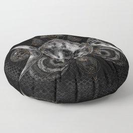Triple Moon - Triple Goddess  Floor Pillow