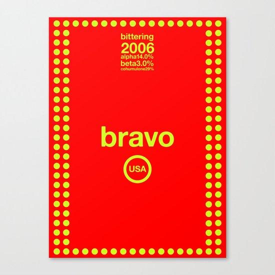 bravo single hop Canvas Print