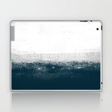 Ocean No. 1 - Minimal ocean sea ombre design  Laptop & iPad Skin