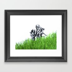 Marines Framed Art Print