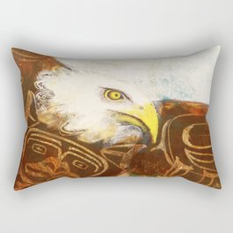 The eagle's spirit Rectangular Pillow