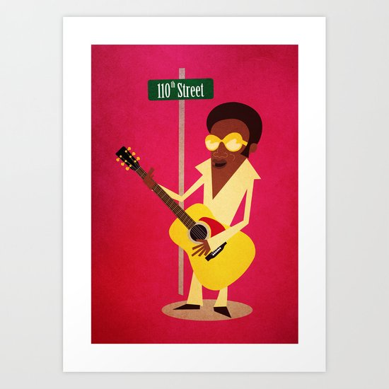 Bobby Womack | 110th Street Art Print