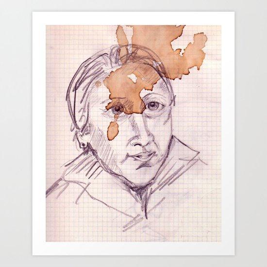 EL PASO DEL TIEMPO Art Print