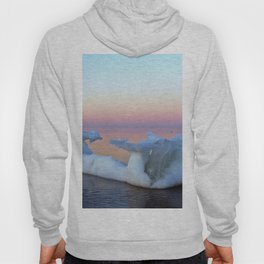 Viking Iceship on the Sea Hoody