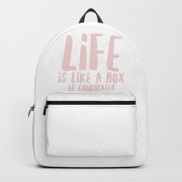 Life is Chocolate Backpack