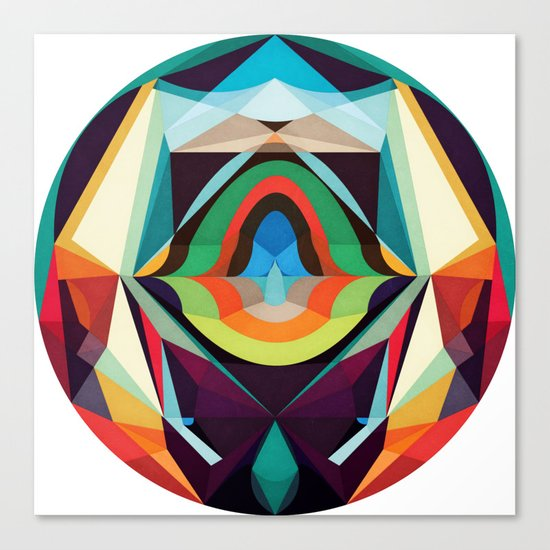 All The Inner Worlds Canvas Print