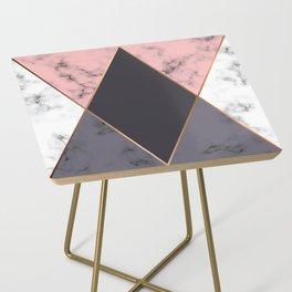 Marble Geometry 018 Side Table