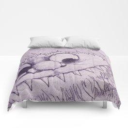 Wild Purple Comforters