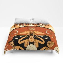 Super Science Friends Kickstarter Poster Comforters