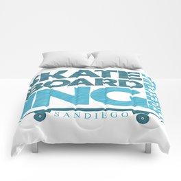 Skateboarding Freestyle San Diego Comforters