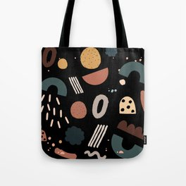 Geo Shapes Luxe Tote Bag