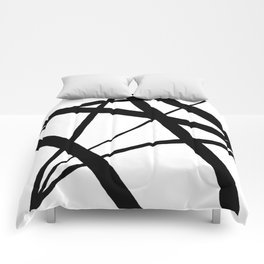 A Harmony of Lines and Shapes Comforters