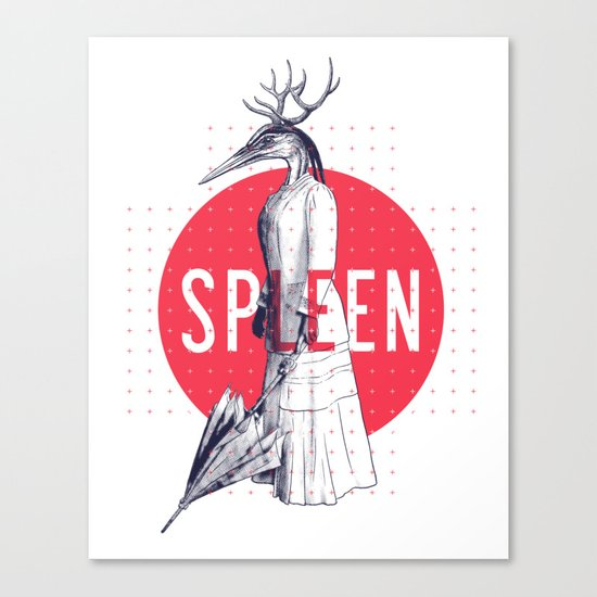 Spleen Canvas Print