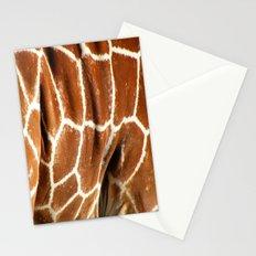 Giraffe Skin Close-up Stationery Cards