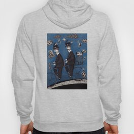Two Men Travelling Hoody