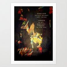 Remnants Art Print