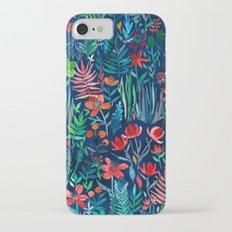 Tropical Ink - a watercolor garden Slim Case iPhone 7