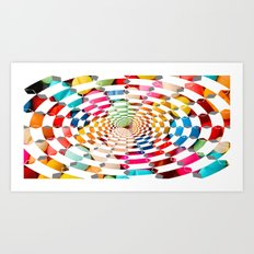 Candy Drug Art Print