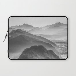 Balloon ride over the alps 3 Laptop Sleeve