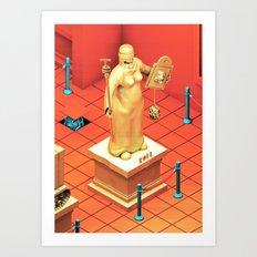 Sob Museum Art Print