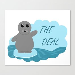 Seal the Deal Canvas Print