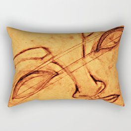 What Comes Before, What Lies Beneath From a Different Perspective Rectangular Pillow