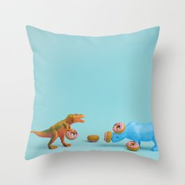 Ring Toss Throw Pillow