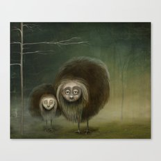 Mabel and Mo Canvas Print