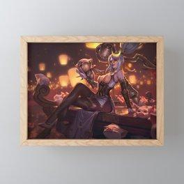 Firecracker Vayne Prestige Edition League of Legends Framed Mini Art Print